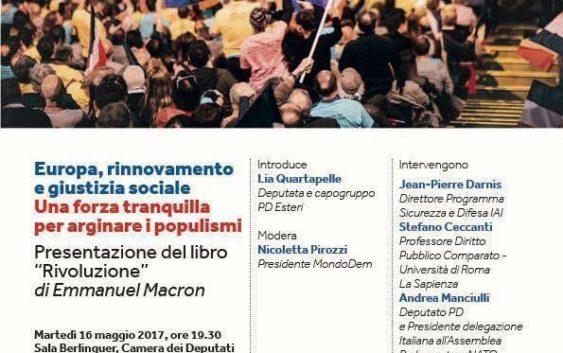 """Presentazione del Libro """"Rivoluzione"""" di Macron"""