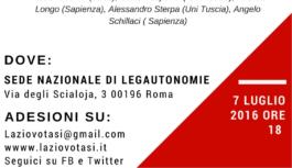 Referendum, incontro presso Legautonomie