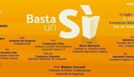 A Napoli per parlare di Referendum
